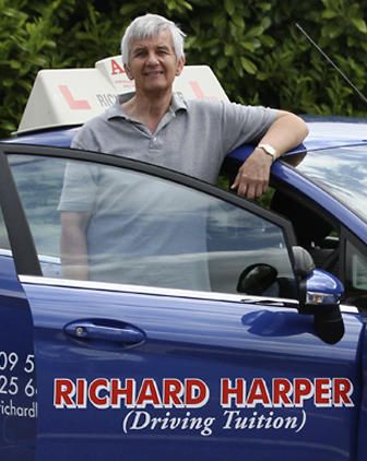 Driving lessons in Loughborough - Meet Richard Harper