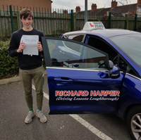Driving lessons in Loughborough with Richard Harper